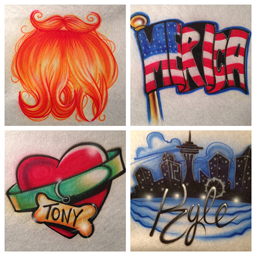 Air Brush Apparel 3 Icon