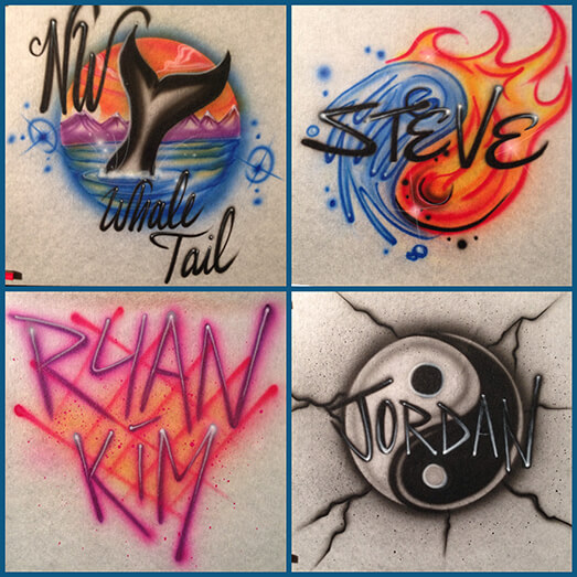 Air Brush Apparel 13 Icon