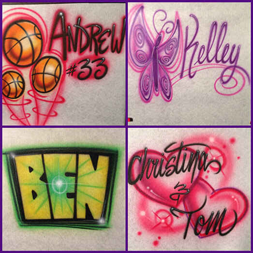 Air Brush Apparel 14 Icon